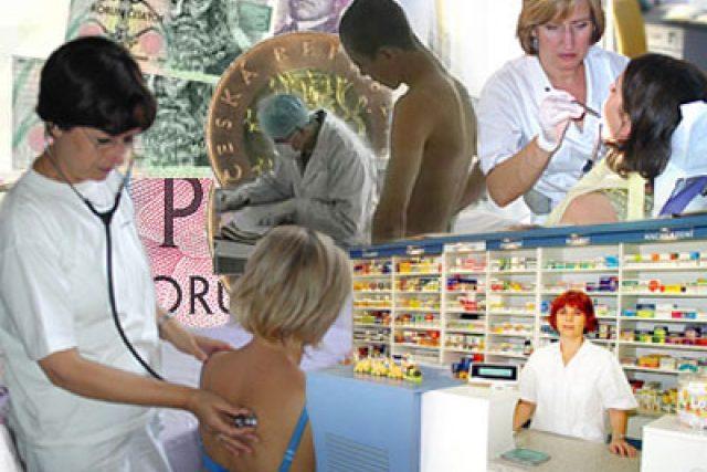 poplatky ve zdravotnictví