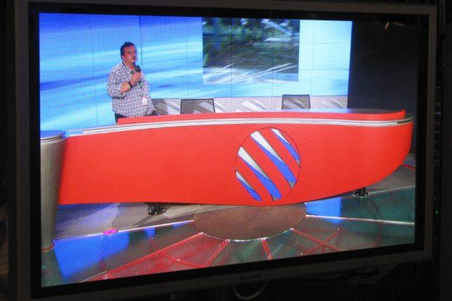 Nové centrum zpravodajství TV Nova (říjen 2007)