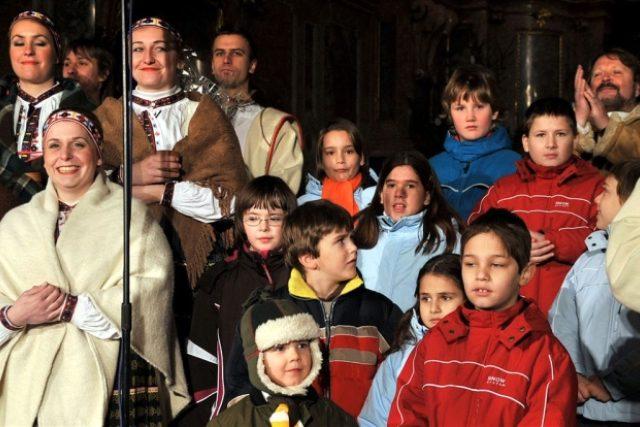 Děti z Klokánku a účinkující