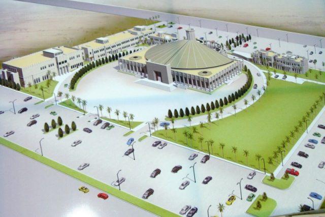 Projekt kostela v katarském městě Doha