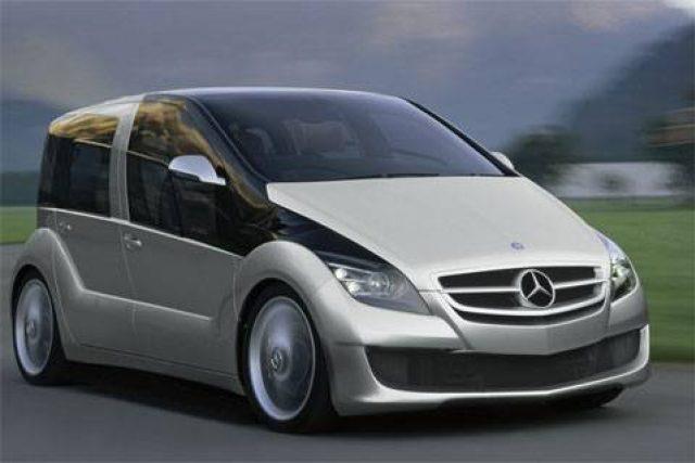 Vodíkový koncept společnosti Mercedes