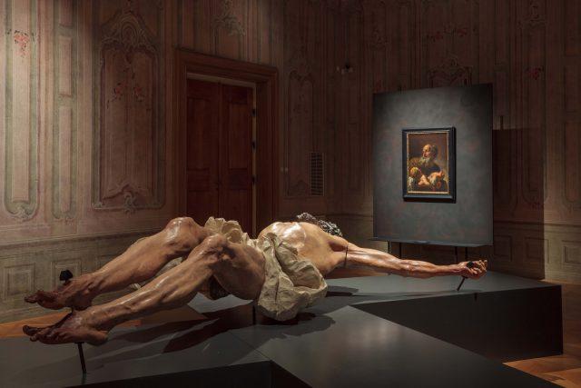 Tváří v tvář,  expozice Starých mistrů Národní galerie ve Schwarzenberském paláci na Pražském hradě | foto: Eva Vopátková