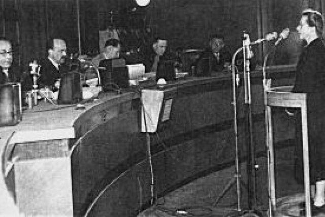 Proces s Miladou Horákovou | foto: licence Public Domain,  volné dílo