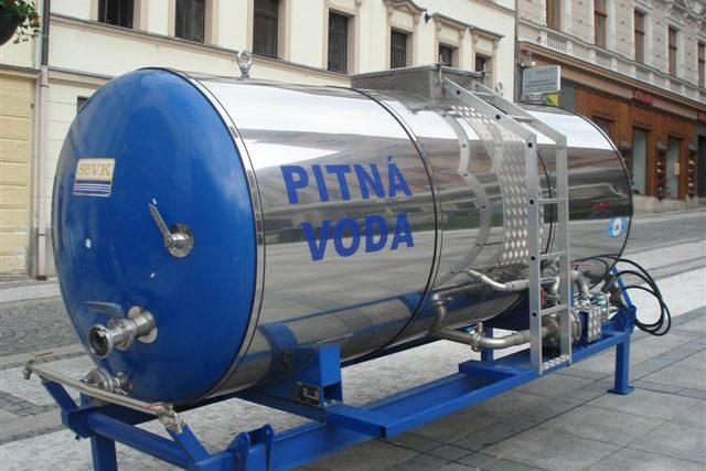 Cisterna s pitnou vodou