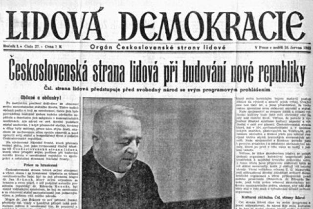 Článek o Československé straně lidové