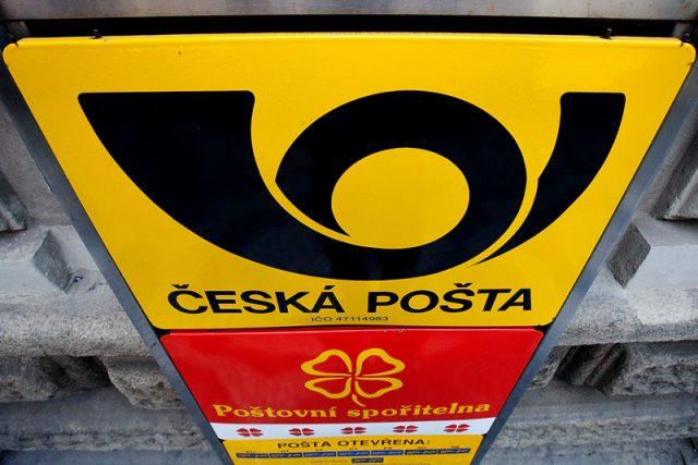 Česká pošta. Ilustrační foto.