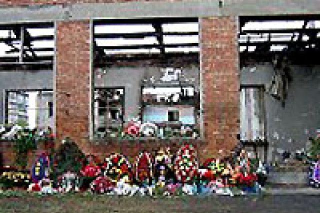 Trosky beslanské školy