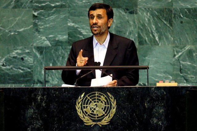 Mahmúd Ahmadínežád | foto: UN Photo,  Marco Castro