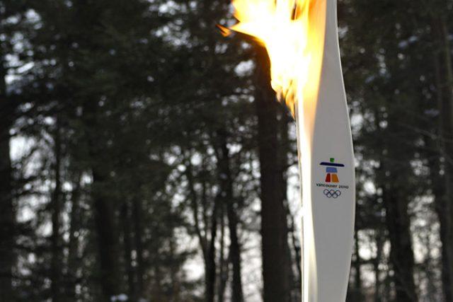 Olympijský oheň, Vancouver