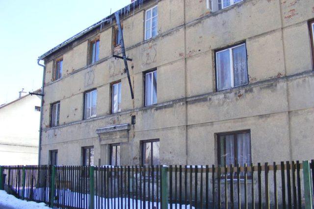 Zdevastovaný dům - Nový Bor