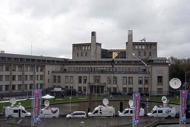Budova trestního tribunálu v Haagu