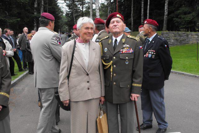 Brigádní generál Jaroslav Klemeš - jeden ze dvou dosud žijících parašutistů vysazených na území protektorátu