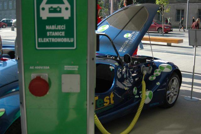 Elektromobil (ilustrační foto)