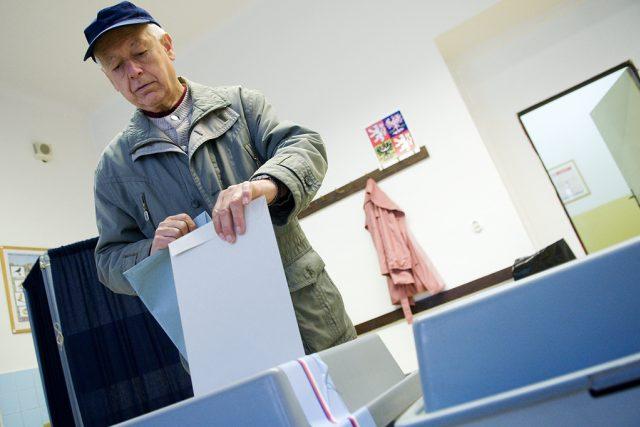 Komunální volby a volby do Senátu | foto: Tomáš Adamec