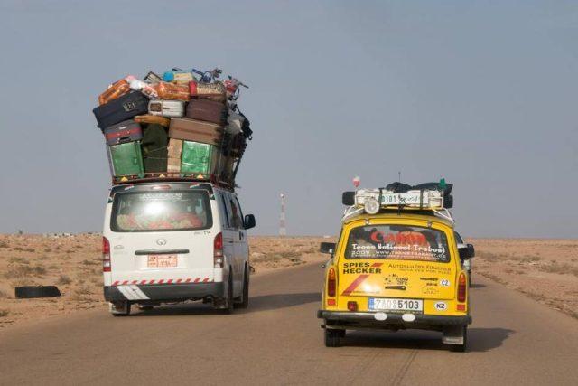 TransTrabant 2009: Tunisko, Libye, Egypt