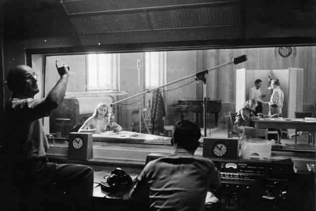 První studio RFE   foto:  RFE/RL
