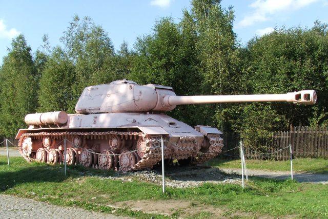 Růžový tank, David Černý