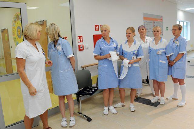 Slavnostní otevření nově zrekonstruované dětské části nemocnice Motol.