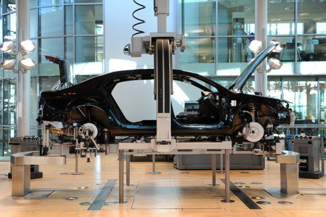 Výroba auta (ilustrační foto)