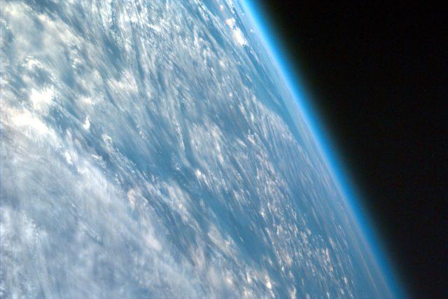 Atmosféra planety Země, fotografie ve vysokém rozlišení