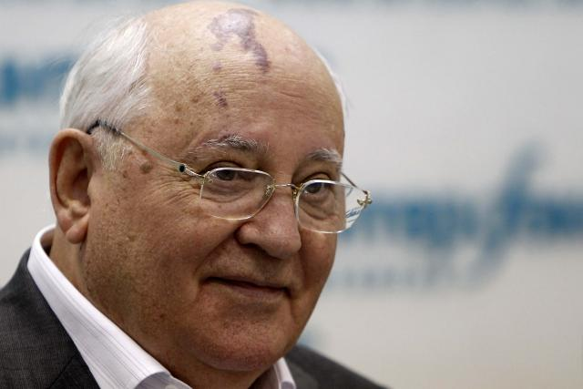Bývalý sovětský prezident Michajl Gorbačov