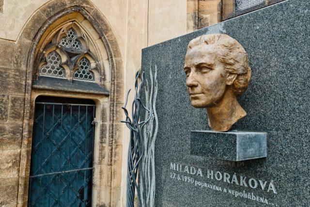 Milada Horáková (25.12.1901 - 27.6.1950), JUDr., česká politička, oběť justiční vraždy během komunistických politických procesů v 50. letech minulého století za vykonstruované spiknutí a velezradu