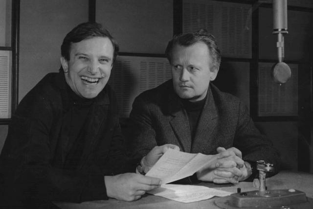 Jiří Suchý a Jiří Šlitr