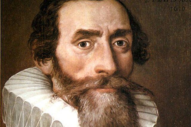 Portrét Johanna Keplera od neznámého autora z roku 1610