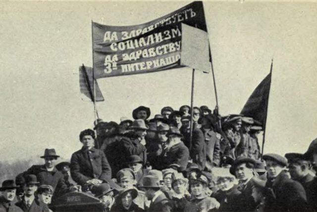 Říjen 1918. Vzniklo by Československo bez říjnové revoluce v Rusku? | foto: Public domain,   neznámý
