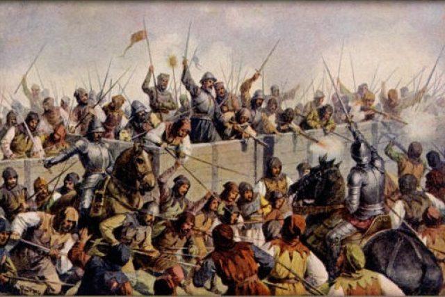 Josef Mathauser: Bitva u Lipan roku 1434