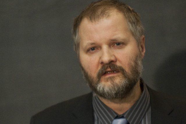 Václav Hampl, rektor Univerzity Karlovy v Praze