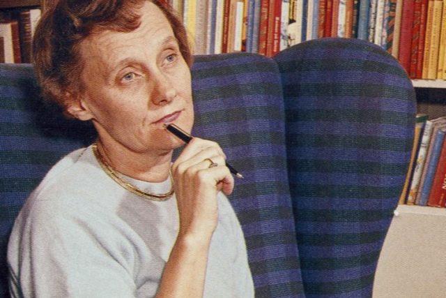 Astrid Lindgrenová v roce 1960 na fotografii neznámého autora