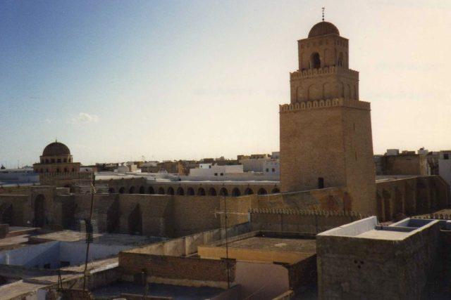 Mešita ve městě Kairouan | foto: Creative Commons Attribution-NonComercial-ShareAlike 2.0 Generic
