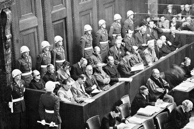 Norimberský proces - obžalovaní