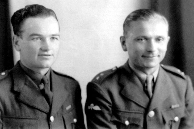 Výsadek Anthropoid – rotmistři Jan Kubiš a Josef Gabčík