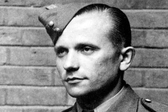 Výsadkář skupiny Anthropoid rtm. Josef Gabčík