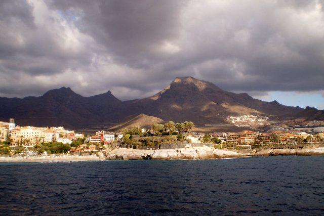 pohled na ostrov Tenerife   foto: Ľubica Zlochová