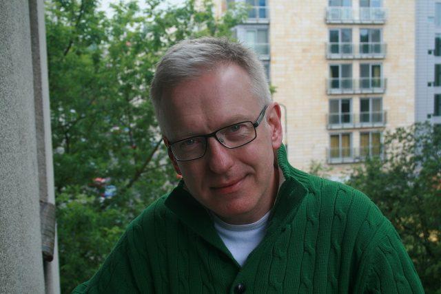 Spisovatel Mariusz Szczygiel, autor knihy Gottland
