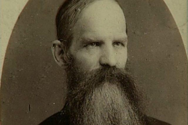 Josef Hlávka v mladších letech
