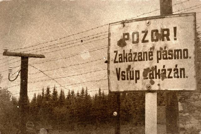 železná opona - vstup zakázán!
