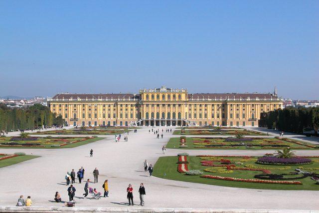 Vídeňský palác Schönbrunn