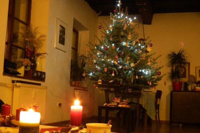Vánoce, vánoční stromek