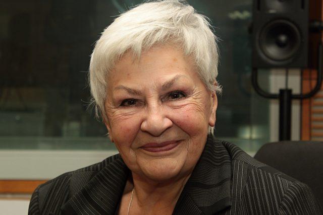 Hlasatelka a moderátorka Kamila Moučková