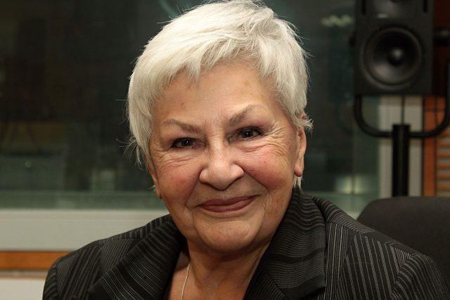 Kamila Moučková, legendární hlasatelka