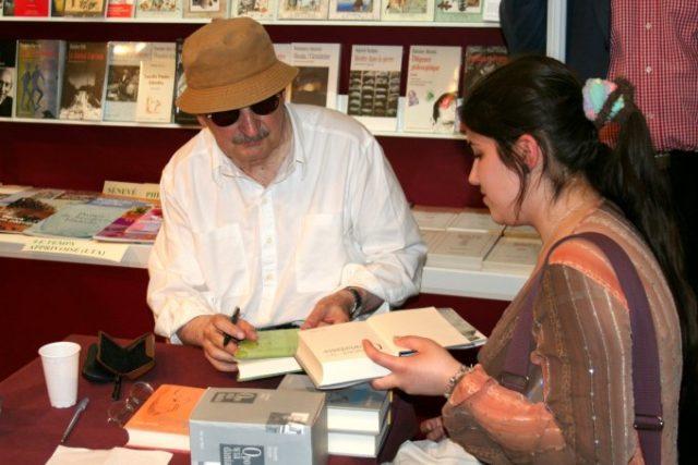 Polský spisovatel Sławomir Mrożek