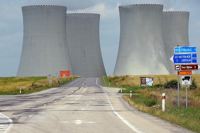 Jaderná elektrárna Temelín (ilustrační foto)