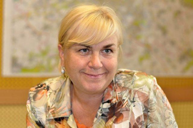 viceprezidentka Asociace starožitníků Simona Šustková ve studiu Reginy