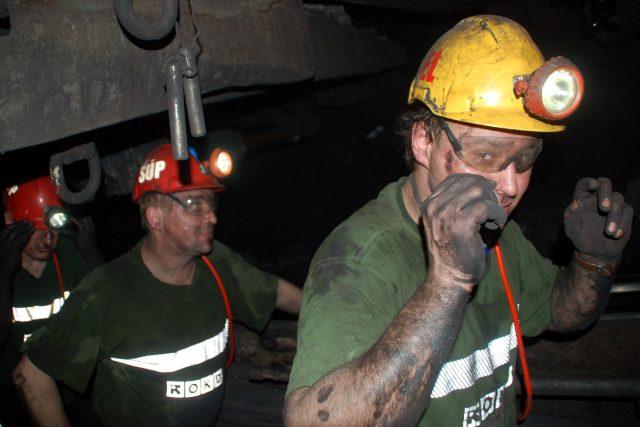 Základním cílem OKD je bezpečnost horníků v dole.