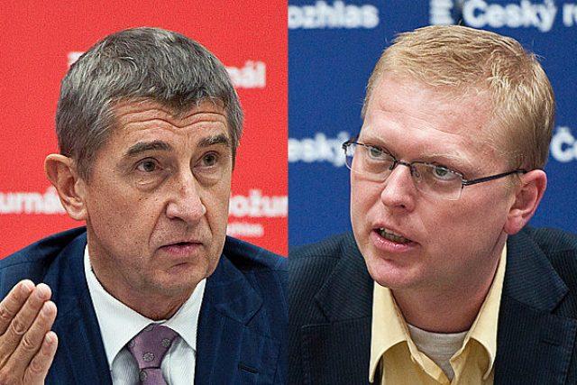 Andrej Babiš a Pavel Bělobrádek
