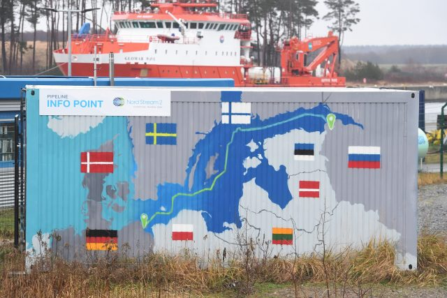 Rusko-německý plynovod Nord Stream 2